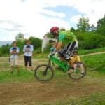Downhill-Wettbewerb — Stockfoto #8489864