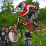Downhill-Wettbewerb — Stockfoto #8489871