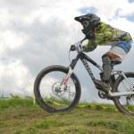 Downhill-Wettbewerb — Stockfoto #8489883