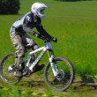 Downhill competition — Stock Photo #8489885