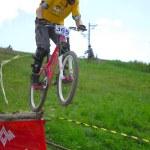 Downhill-Wettbewerb — Stockfoto #8490008