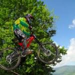 Downhill-Wettbewerb — Stockfoto #8490029