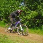 Downhill-Wettbewerb — Stockfoto #8490037