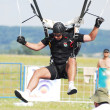 World parachuting championships — Stock Photo
