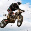 Motocross MX rider — Stock Photo #8491292