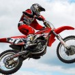 Motocross MX rider — Stock Photo