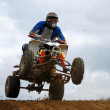 Motocross MX rider — Foto Stock