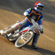 Stock Photo: Speedway rider