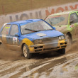 Rally car — Stockfoto