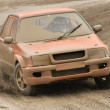 Rallye car — Stock Photo
