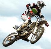 Mx rider saut — Photo