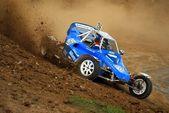 Autocross racing — Stock Photo