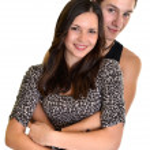 Loving couple embracing — Stock Photo #8521695