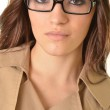 Brunette with glases — Stock Photo #8744136