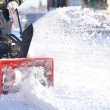 Snowblower - Stock Photo