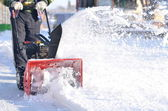 Snowblower — Stock Photo