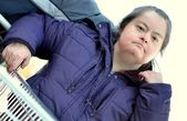 Woman with Down Syndrome — Стоковое фото