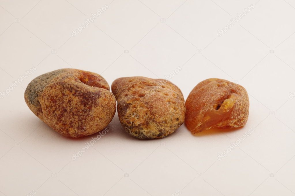 The raw amber from coast of the Baltic sea of the Kaliningrad area  Stock Photo #10015316