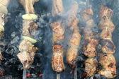 Smakelijke gegrild vlees — Stockfoto
