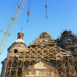 Stock Photo: Restoration of an old beautiful church