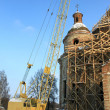Stock Photo: Restoration of old beautiful church