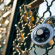 Padlock symbol of eternal love — Stock Photo #8678876