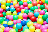 Colorful balls in a playground for kids — Stock Photo