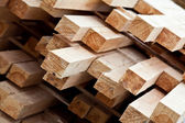 Pile of planks — Stock Photo