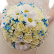 Bridal bouquet close-up — Stock Photo #10619778