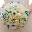 Bridal bouquet close-up — Stock Photo