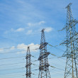 transmission lines — Stock Photo