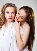 Lesbian couple — Stock Photo