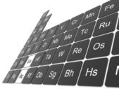 Periodic table of the elements — Zdjęcie stockowe