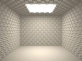 Akustické pokoj — Stock fotografie