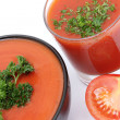 Tomato soup — Stock Photo #10587654