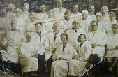 Old photograph nurses — Fotografia Stock