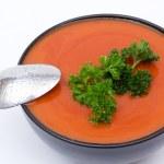 Tomato soup — Stock Photo #9193877
