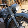 Stock Photo: World War II germmotorcycle