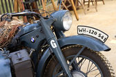 World War II german motorcycle — Stock Photo