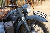 World War II german motorcycle — Stock Photo