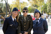 Soldier girls — Stock Photo