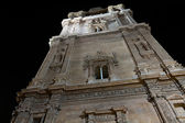 Cathedral Church of Murcia at night — Stock Photo