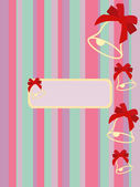 Christmas Cards. postcard — Stock Vector