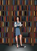 Librarian — Stock Vector