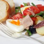 Nicoise salad closeup — Stock Photo #10111295