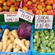 Stock Photo: English autumn fruit and veg