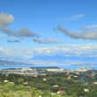 Corfu panorama - Foto Stock