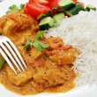 South Indian chicken curry — Stock Photo