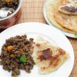 Stock Photo: Keemcurry with paratha
