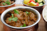 Madras butter beef curry — Stock Photo